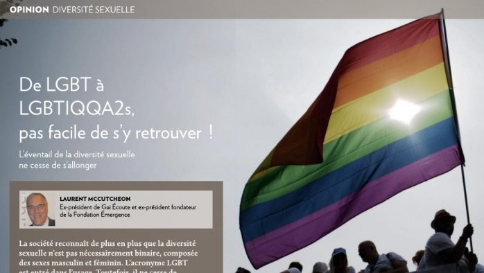 De LGBT à LGBTIQQA2s, pas facile de s'y retrouver!