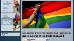 Les jeunes plus préoccupés que leurs aînés par le racisme et les droits des LGBT