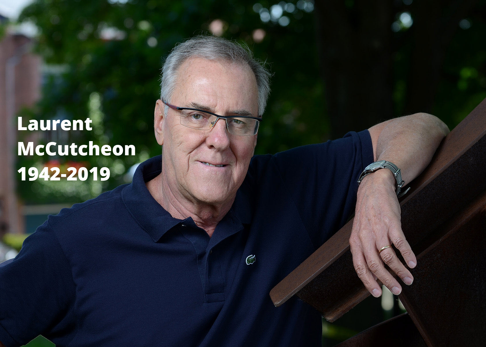 Laurent McCutcheon | 1942-2019